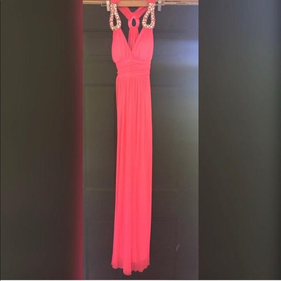 B Darlin Dresses & Skirts - B Darlin |  Hot Pink Cutout Dress